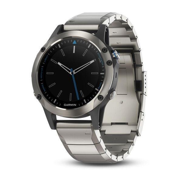 Quatix® 5 Acier Inoxidable Sapphire avec Bracelet en Métal