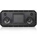 Sound-Panel All-In-One Shallow Mount Speaker System Black