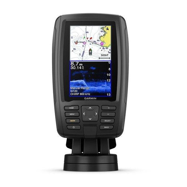 """echoMAP™ PLUS 42cv, Sonar/GPS, ClearVü™, """"BaseMap"""" sans Sonde"""