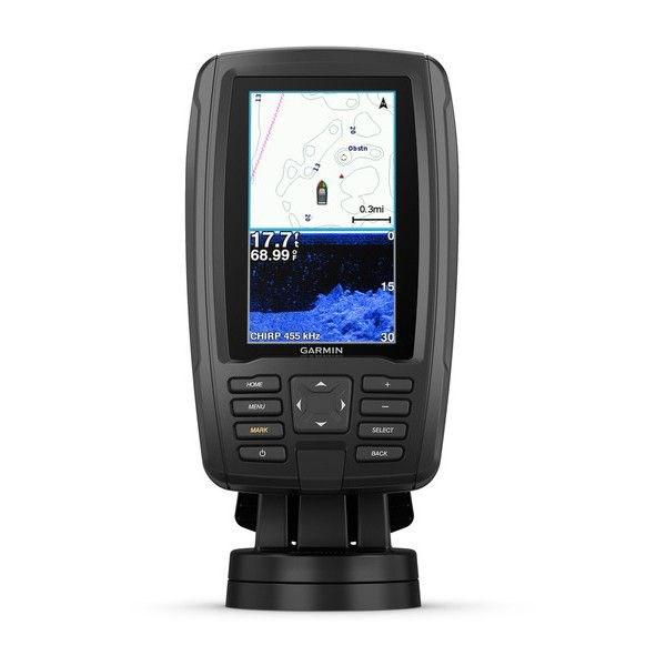 echoMAP™ PLUS 44cv, Sonar/GPS, ClearVü™, US BlueChart G2 HD Sonde CV20-TM
