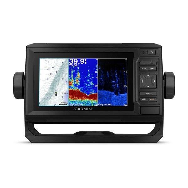 echoMAP™ PLUS 63cv, Sonar/GPS, ClearVü™, US LakeVü HD Sonde CV20-TM