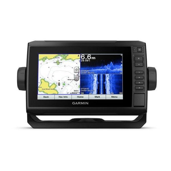 """echoMAP™ PLUS 72sv, Sonar/GPS, SideVü™, ClearVü™, """"BaseMap"""" sans Sonde"""