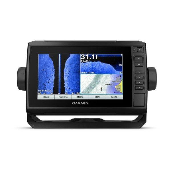 echoMAP™ PLUS 73sv, Sonar/GPS, SideVü™, ClearVü™, US LakeVü HD avec CV52HW-TM