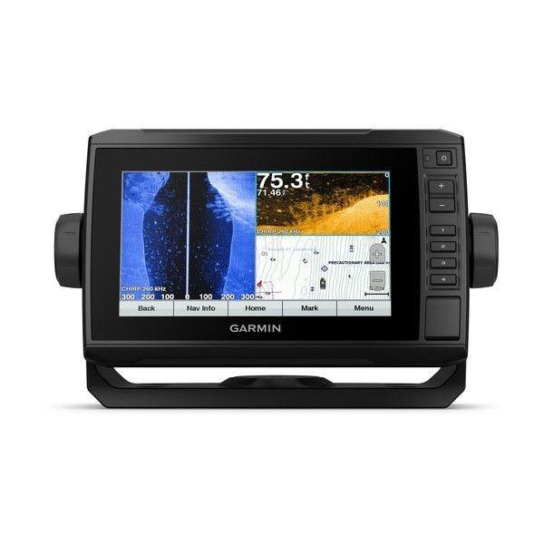 echoMAP™ PLUS 74sv, Sonar/GPS, SideVü™, ClearVü™, US BlueChart G2 HD avec CV51M-TM