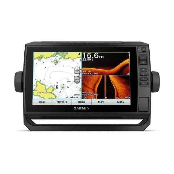 """echoMAP™ PLUS 92sv, Sonar/GPS, SideVü™, ClearVü™, """"BaseMap"""" sans Sonde"""