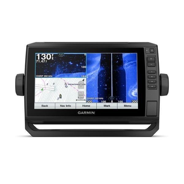 echoMAP™ PLUS 94sv, Sonar/GPS, SideVü™, ClearVü™, US BlueChart G2 HD avec CV51M-TM