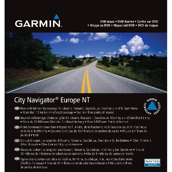 City Navigator® Europe NT :Carte microSD™/SD™
