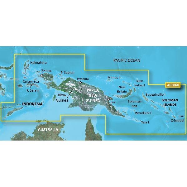 BlueChart® g3 Vision - Timor Leste-New Guinea - VAE006R - v2020.5(v22.0)