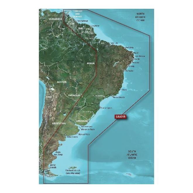 BlueChart® G2 HD - South America East Coast - HXSA001R