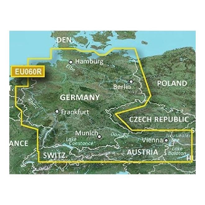 BlueChart® G3 - Germany Inland Waters - HXAE060R