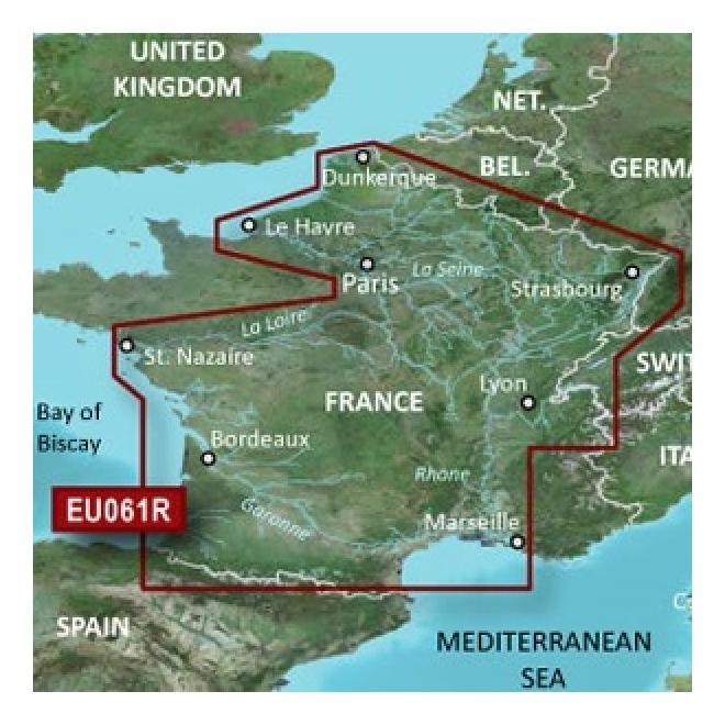 BlueChart® G3 - France Inland Waters - HXAE061R - GARMIN