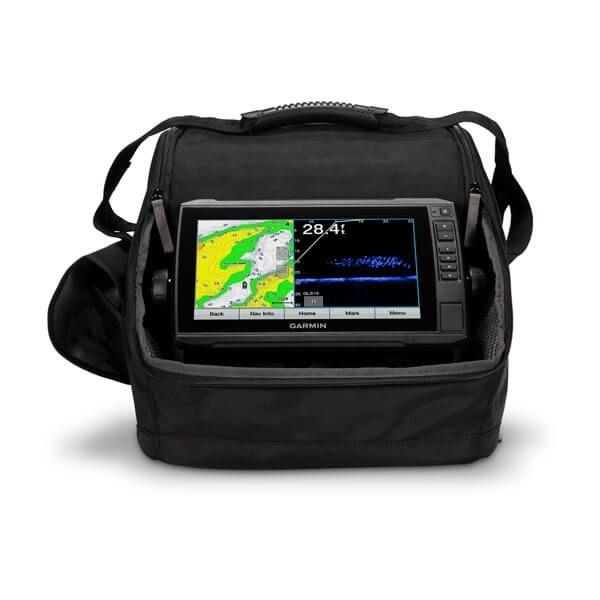 Ensemble pour pêche sur glace Panoptix™ LiveScope Avec ECHOMAP™ UHD 93sv avec Canada LakeVu