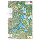 Carte papier du lac White