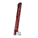 Raptor Shallow Water Anchors -  8 ft Red with active anchoring