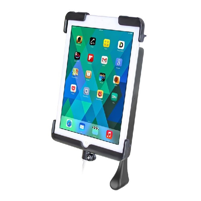 06073ea5156 RAM MOUNTING SYSTEM RAM Tab-Lock™ Locking Cradle with Lighting connector  dock for the Apple iPad mini