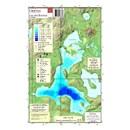 Carte Papier : Lac des Écorces