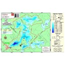 Carte Papier : Lac Masson