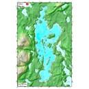 TRAK LAC BLUE SEA (QC/OUTAOUAIS) 12X18 1:25K