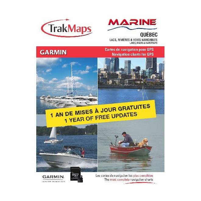 Marine Québec 12.3.0 SD/MicroSD: Garmin